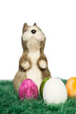 Standing Easter bunny Stock Photos