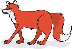 Standing Fox Royalty Free Stock Photos