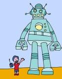 Standing Giant Robot Stock Photos