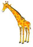 Standing giraffe Stock Photos