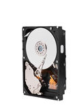 Standing hard disk Royalty Free Stock Photography