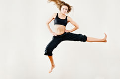 Standing Jump Royalty Free Stock Photos