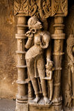 Standing Lady statue of Rani ki vav Stock Images