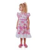 Standing little girl Stock Images