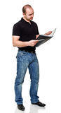 Standing man Stock Images