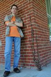 Standing Man stock photo