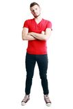 Standing man Stock Photography