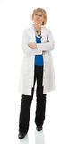 Standing mature doctor Stock Photography