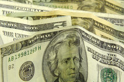 Standing Money royalty free stock images