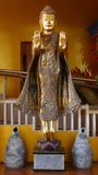 Standing myanmar buddha. Stock Photos