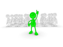 Standing out Royalty Free Stock Photo