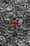 Standing out in a crowd Royalty Free Stock Image