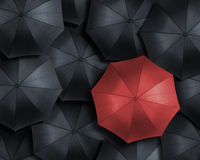 Standing out from the crowd Stock Photos