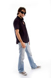Standing pose of stylish male Stock Images