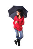 Standing in the rain Royalty Free Stock Photo