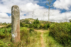 Standing stone Royalty Free Stock Photography