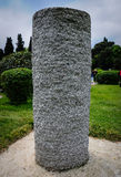Standing Stone On Garden Stock Images