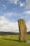 Standing Stone, Machrie Moor, Arran Royalty Free Stock Photography