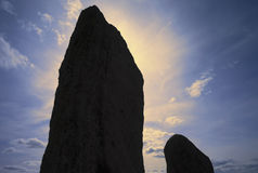 Standing stones Royalty Free Stock Image