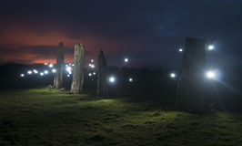 Standing Stones Stock Images