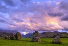 Standing stones. Royalty Free Stock Photo