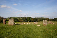Standing Stones Royalty Free Stock Photography
