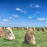 Standing stones Stock Photo