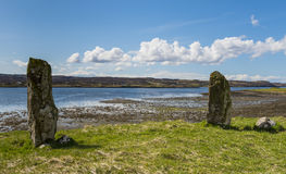 Standing Stones  Kensaleyre Royalty Free Stock Image