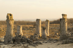 Standing Stones natural phenomenon Royalty Free Stock Images