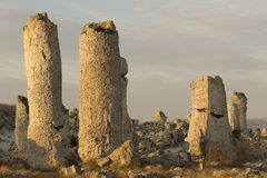 Standing Stones natural phenomenon Royalty Free Stock Image
