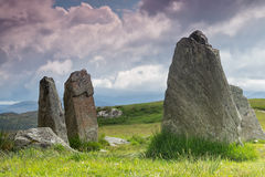 Standing stones Outer Hebrides Stock Photography