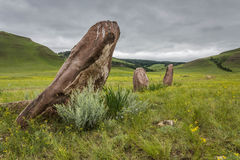 Standing stones. Royalty Free Stock Image