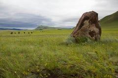 Standing stones. Stock Photo