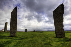 The Standing Stones of Stenness, Orkney Royalty Free Stock Image