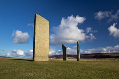 Ancient stone circle Stock Photography