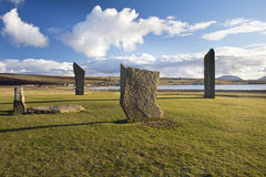 Ancient standing stones Royalty Free Stock Photo
