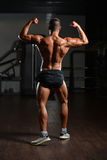 Standing Strong In Gym Stock Images