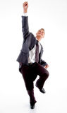 Standing successful executive Royalty Free Stock Photo