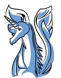 Unicorn vector illustration Royalty Free Stock Image