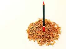 Standing up pencil Stock Image