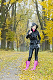 Standing woman Royalty Free Stock Photo