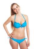 Standing woman in bikini Stock Image