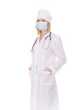 Standing woman doctor Royalty Free Stock Images