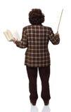 Standing woman teacher Stock Image
