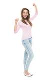 standing woman young στοκ εικόνες
