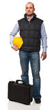 Standing worker Stock Photography