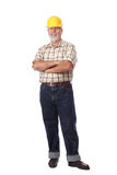 Standing worker Stock Images