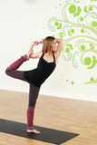 Standing Yoga Stock Photography