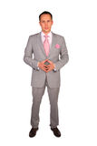 Standing young businessman Royalty Free Stock Image