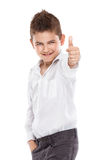 Standing young cool boy Stock Photography